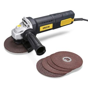 MPT Corded Angle Grinder with Auxiliary Handle and Wrench 800W 125mm